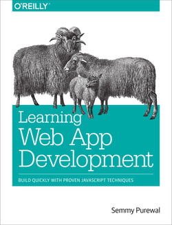 Learning Web App Development