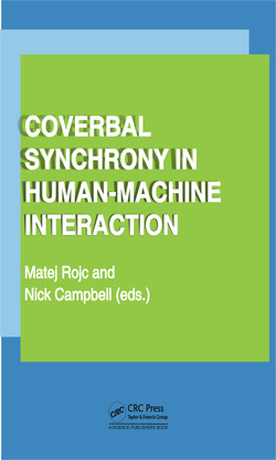 Coverbal Synchrony in Human-Machine Interaction