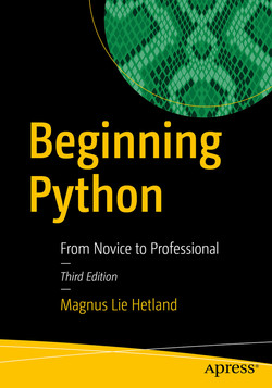 Beginning Python: From Novice to Professional, 3rd Edition