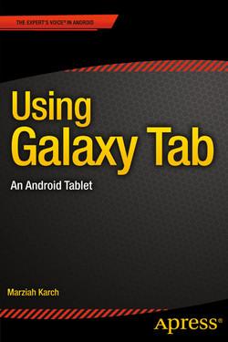 Using Galaxy Tab: An Android Tab