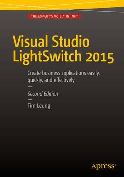Visual Studio LightSwitch 2015, Second Edition