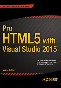 Pro HTML5 with Visual Studio 2015