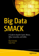 Cover of Big Data SMACK: A Guide to Apache Spark, Mesos, Akka, Cassandra, and Kafka