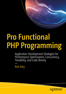 Pro Functional PHP Programming: Application Development Strategies for Performance Optimization, Concurrency, Testability, and Code Brevity