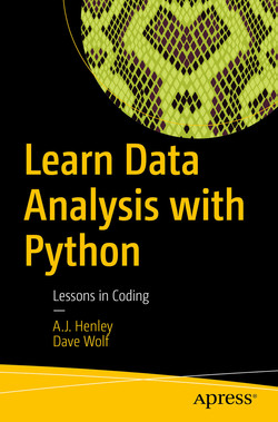 Learn Data Analysis with Python: Lessons in Coding