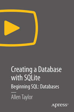 Creating a Database with SQLite