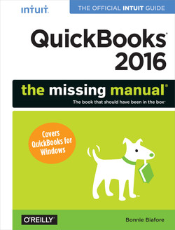 QuickBooks 2016: The Missing Manual