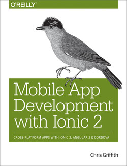 Mobile App Development with Ionic 2, 1st Edition