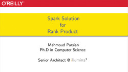 Apache Spark Solution for Rank Product