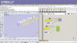 Visual Programming in Rhino3D with Grasshopper