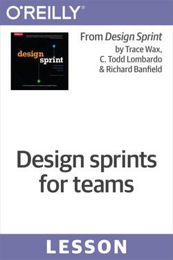 Design sprints for teams