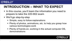 Preparing for CompTIA A+ - Exam 220-902 (2015 Objectives)