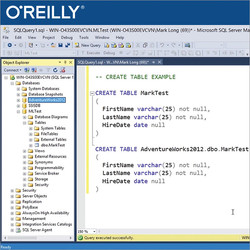 Developing SQL Databases - Exam 70-762 Certification