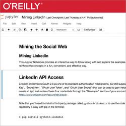 Mining the Social Web - LinkedIn