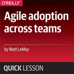 Agile adoption across teams