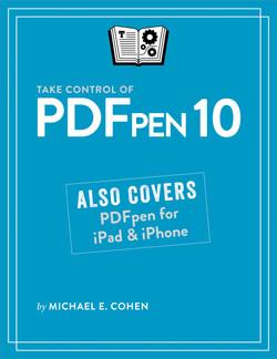 Take Control of PDFpen 10