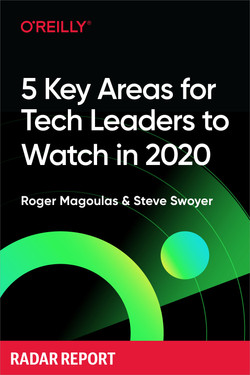 5 Key Areas for Tech Leaders to Watch in 2020
