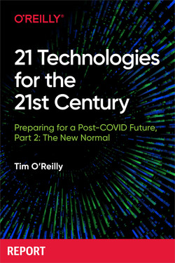 21 Technologies for the 21st Century: Preparing for a Post-Covid Future, book cover