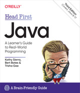 book cover - Head First Java