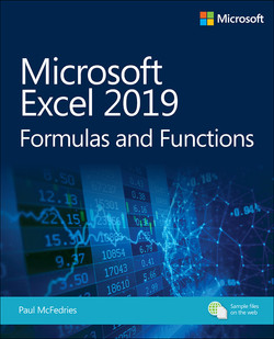 Microsoft Excel 2019 Formulas and Functions, First Edition