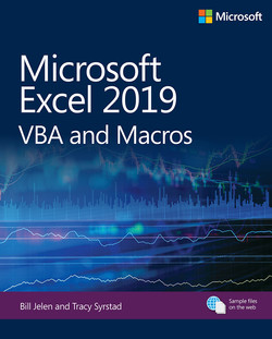 Microsoft Excel 2019 VBA and Macros, First Edition