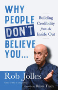 book cover: Why People Don't Believe You...