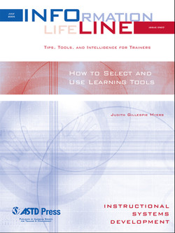 How to Select and Use Learning Tools