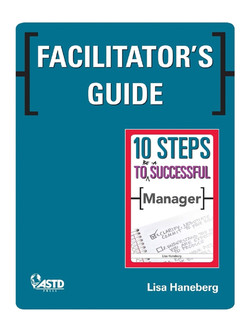 Facilitator's Guide: 10 Steps to Be a Successful Manager
