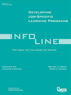 Developing Job-Specific Learning Programs