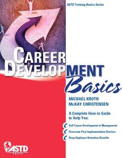 Career Development Basics