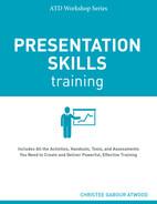 book cover: Presentation Skills Training