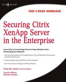 Securing Citrix XenApp Server in the Enterprise