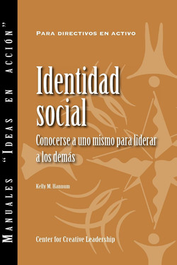 Social Identity: Knowing Yourself, Leading Others (Spanish for Spain)
