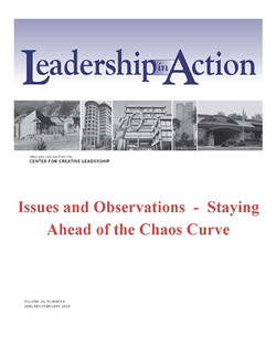 Leadership in Action: Issues and Observations - Staying Ahead of the Chaos Curve