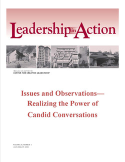Leadership In Action: Issues and Observations—Realizing the Power of Candid Conversations
