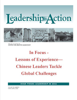 Leadership in Action: In Focus - Lessons of Experience—Chinese leaders Tackle Global Challenges