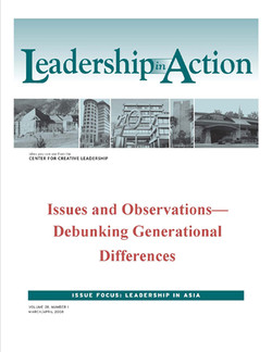 Leadership in Action: Issues and Observations—Debunking Generational Differences