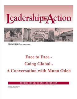 Leadership in Action: Face to Face - Going Global - A Conversation with Muna Odeh