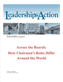 Leadership in Action: Across the Boards - How Chairmen's Roles Differ Around the World