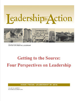 Leadership in Action: Getting to the Source: Four Perspectives on Leadership