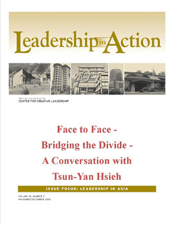 Leadership in Action: Face to Face - Bridging the Divide - A Conversation with Tsun-Yan Hsieh