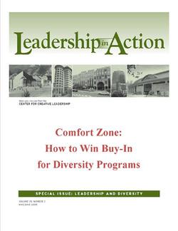 Leadership in Action: Comfort Zone: How to Win Buy-In for Diversity Programs