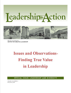 Leadership in Action: Issues and Observations - Finding True value in Leadership