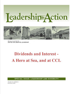 Leadership in Action: Dividends and Interest - A Hero at Sea, and at CCL