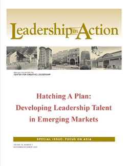 Leadership in Action: Hatching a Plan: Developing Leadership Talent in Emerging Markets