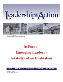 Leadership in Action: In Focus - Emerging Leaders - Anatomy of an Evaluation