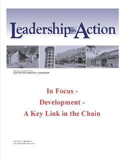 Leadership in Action: In Focus - Development - A Key Link in the Chain