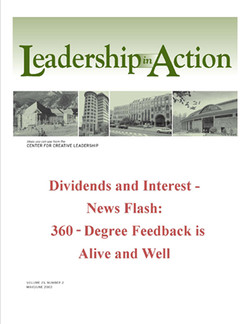 Leadership in Action: Dividends and Interest - News Flash: 360-Degree Feedback is Alive and Well