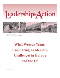 Leadership in Action: What Women Want: Comparing Leadership Challenges in Europe and the US