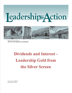 Leadership in Action: Dividends and Interest - Leadership Gold from the Silver Screen